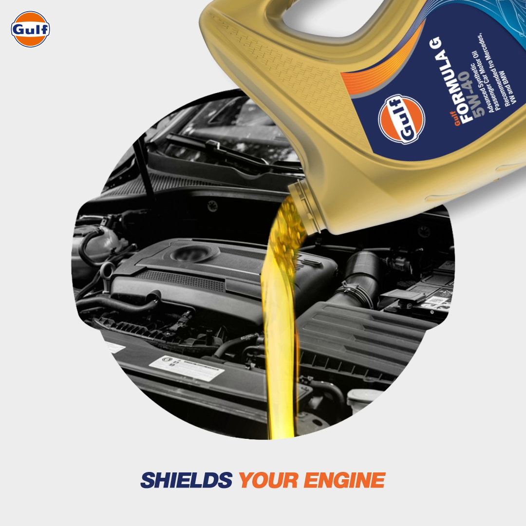 Gulf Oil is the boost your vehicle needs 💪🏻  #GulfOilInternational #CarOil #Car #EngineOil #Engine https://t.co/rONMAgv1rW