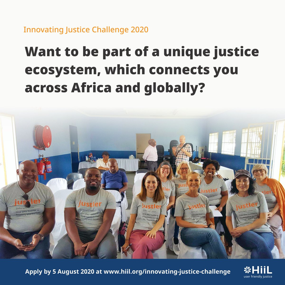 Its a new week!  Another opportunity to apply for our Innovating Justice Challenge here: https://t.co/3947YFZEgx  #JustInnovate20 #InnovatingJusticeChallenge2020 https://t.co/NLHMgVS3Mj