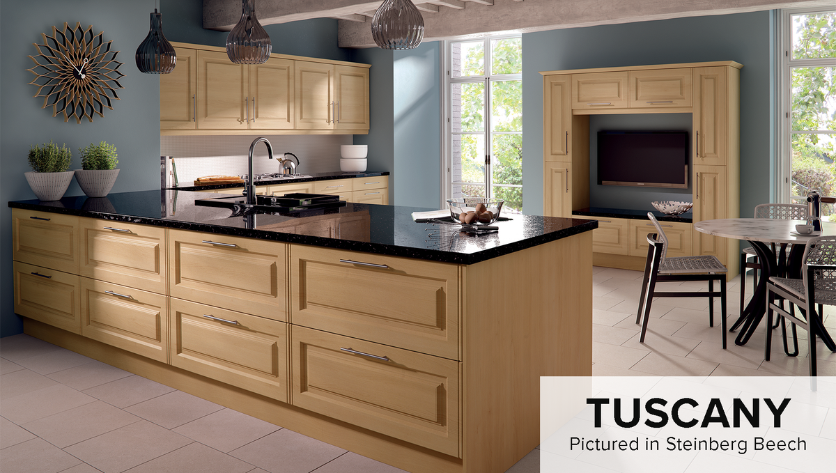 Our Tuscany range has traditional style doors perfectly suited to any kitchen interior. If you want to create your very own Tuscany kitchen space, we offer a wide range of finishes and options to suit any taste!  Browse the Tuscany range: https://t.co/RLG7pQzyGc  #kitchens https://t.co/0lQlX76F1z