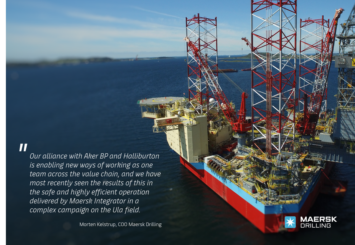 #MaerskIntegrator will be going back to work for @akerbpasa  in February 2021, with a 73-day contract now confirmed under our #Alliance with @akerbpasa  and @Halliburton Halliburton. Read more: https://t.co/nseSeXdtcB https://t.co/vOlLt946rh