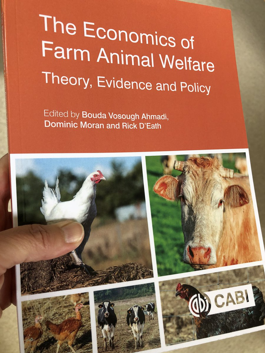 Look what just arrived in the post! 👍🏼  #CABI_books    @SRUC @AlistairLawrenc   #AnimalWelfare https://t.co/SpuzoUPX2X