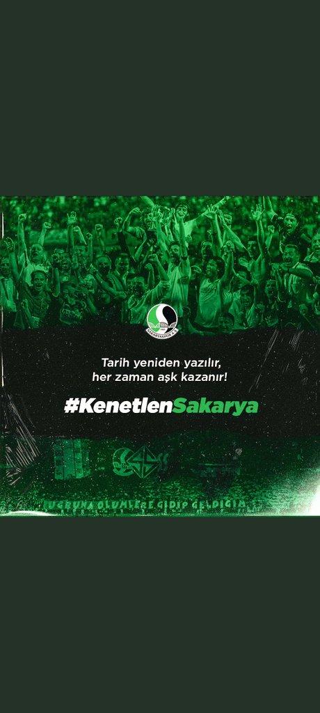 #KenetlenSakarya @Sakaryaspor    💚🖤 https://t.co/p6aFLHFD8G