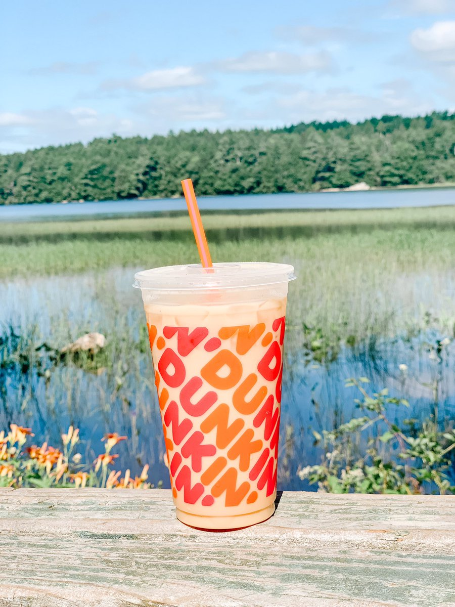 DDPerks members, enjoy a $2 medium iced coffee now through July 26 at participating Maine 