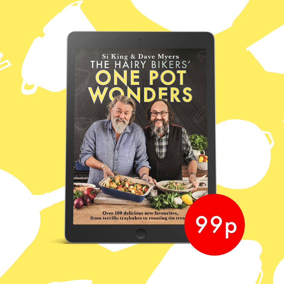 One Pot Wonders is only 99p to download in eBook at the moment... A collection of over 100 tried and tested recipes celebrating the joys of one pot cooking, from terrific tray bakes to roasting tin treats and all with a little less washing up! https://t.co/pdWi8d8iiG #HairyBikers https://t.co/oqWYNjMhOT