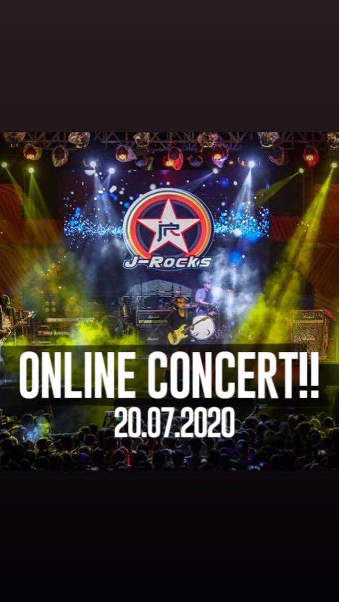 Bentar lagi jam 8 live streaming di Facebookny J-Rocks nih... ditunggu saweran nya yaaaa.. 🙏 https://t.co/bLDbc8T7kg