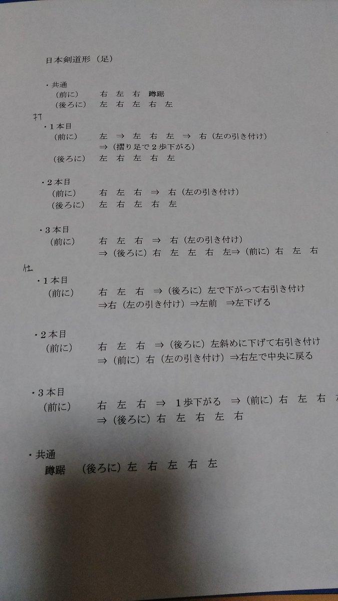 本目 1 日本 形 剣道