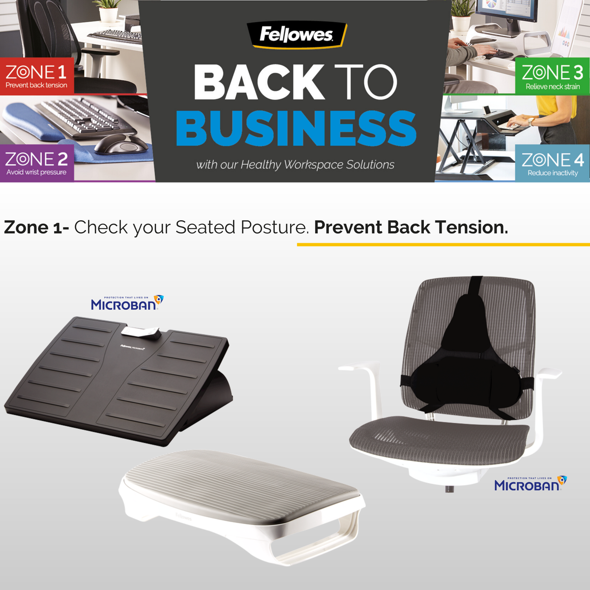 Sitting in a chair without proper support can cause poor circulation and back discomfort.  ➡ Make your workspace comfortable with our ergonomic accessories. Discover the range here: https://t.co/YIKvuuoFOh  #BackToBusiness #YourHealthOurPriority https://t.co/JQf0aZwG6L