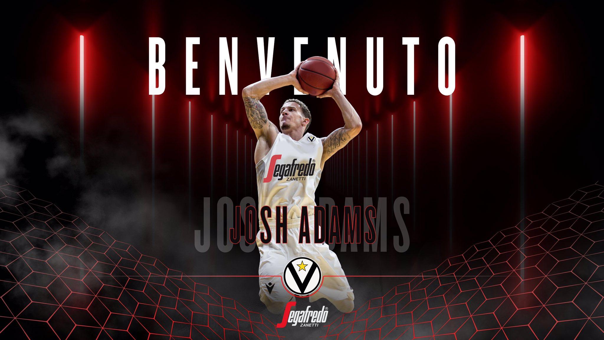 Virtus Bologna: ufficiale la firma di Josh Adams