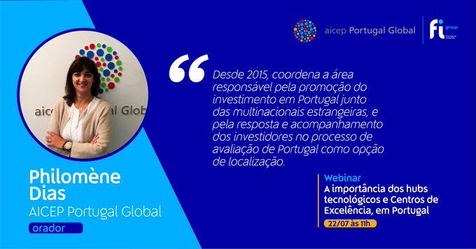 Esta quarta-feira, às 11h, vamos estar à conversa com Philomène Dias da aicep Portugal Global....