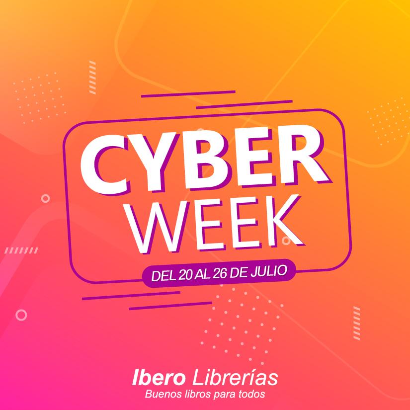 📢¡El Cyber Week Ibero está aquí! *Válido para compras en nuestra web y en nuestra red de librerías. No acumulable con otras promociones. Válido comprando desde el 20/07/20 al 26/07/20. Descuento en fondo Ibero de hasta 30%, y 20% en todo Editorial Planeta y Penguin Random House. https://t.co/3qIj3Tv6Wa