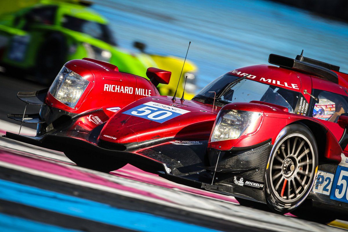 For our very first race in endurance, we finished 5th at the 4 Hours of Le Castellet. We dedicate this remarkable achievement to @katherinelegge, the leader of our 100% female #RichardMilleRacing team, who was unfortunately injured during testing. #ELMS #4HLeCastellet