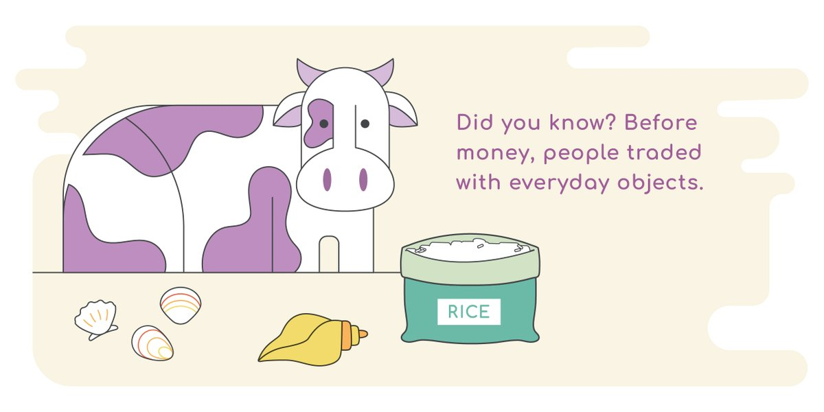 Early traders used items like cows and shells in place of money. Learn about the history of #uscurrency in the Currency Academy School Store! https://t.co/fdEbVij4fv https://t.co/lYeEqSRHe2