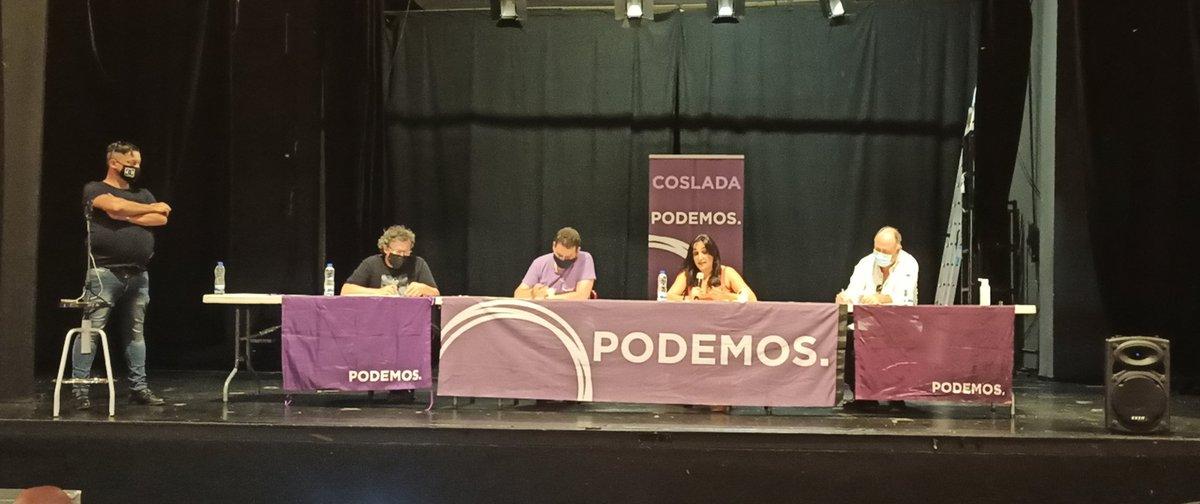 Foto cedida por Podemos Coslada