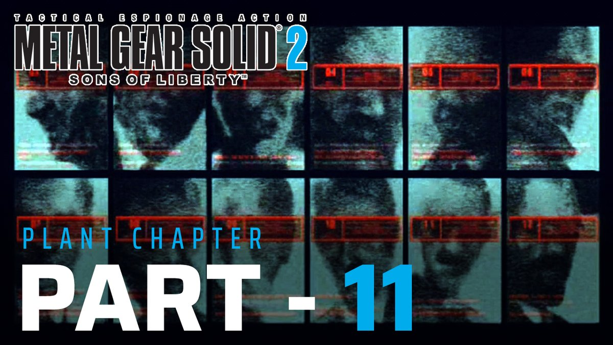 Part 11 of my #metalgearsolid2 playthrough  Video Link: https://youtu.be/bWGgUg_J-MI   #agentcell #mgs2 #solidsnake #pliskin #raiden #solidussnake #lalilulelo #youtubegamingpic.twitter.com/gIeoxJLcsi