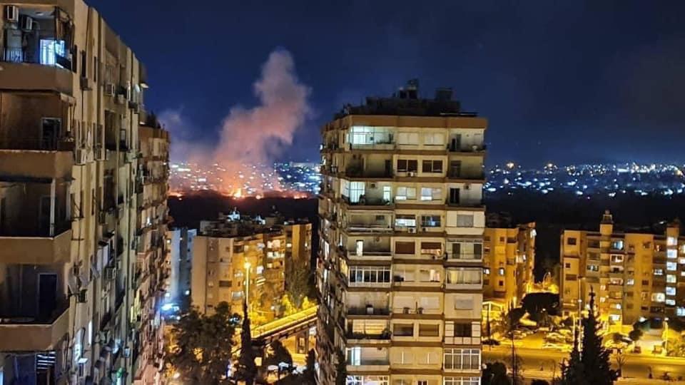 Ισραηλινή επίθεση κατά της Συρίας χτυπούν την πρωτεύουσα Δαμασκό ...