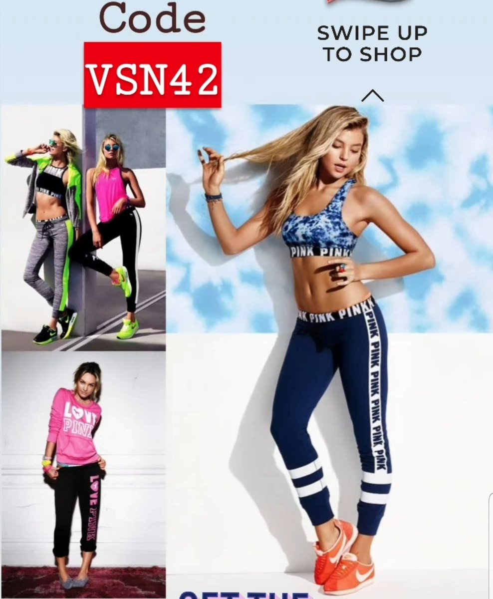 #Trendy_Monday Who said you can't look faboliciouswhile training?With endless signs that #athleisure trend is here to stay, we're bringing you exclusive discount when you shop @VSpink online stores with code VSN42 ENJOY! #7DaysOf #Fitness4All #VSpink #Magnificent_Magazinepic.twitter.com/XrdxCAVhWn