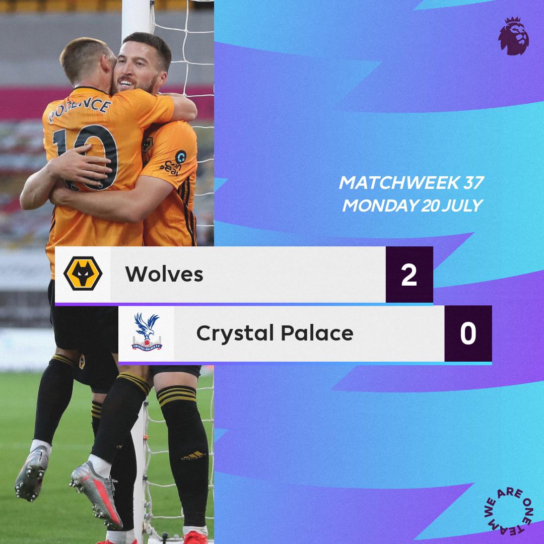 Wolverhampton-Crystal Palace