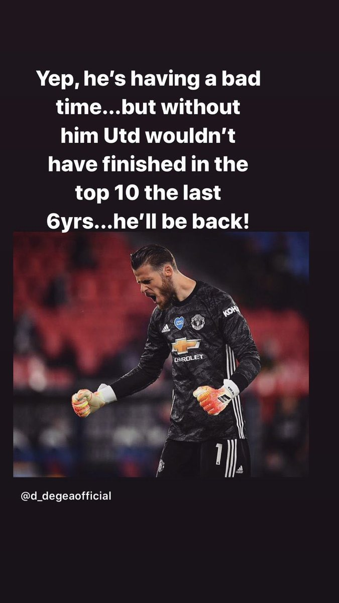 "🗣 ""... Without him #mufc would not have finished in the top 10 in the last six years ... ""   Paul Scholes' message of support to David de Gea 🧤 https://t.co/4DQTHbKjWV"