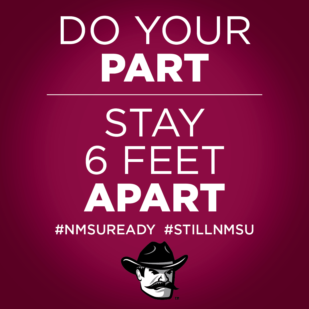 Social Media Posts For New Mexico State University Main Campus
