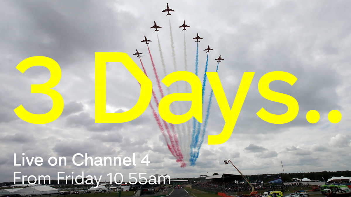 And counting... Here's @benedwardstv's #BritishGP preview to get your teeth into in the meantime!🤓👇  Live @Channel4 this weekend Fri: FP1 10.55, FP2 14.55 Sat: FP3 10:55, Qualy 13:00 Sun: Race 13:00 #C4F1 #WeRaceAsOne   https://t.co/8SwTBpXO6X https://t.co/5brEtF6LaQ