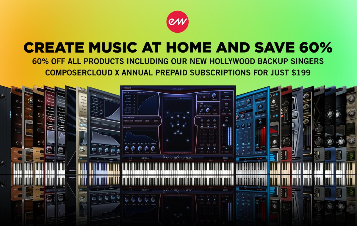 East West 60% Off Sale Right Here at The FX Chain  https://thefxchain.com/collections/sale…  #eastwest #filmcomposer #gamemusic #filmscore #creator #musicmaker #composer #GameAudio #virtualinstruments #cinematic #musicproductionpic.twitter.com/yFMuvmo7B2