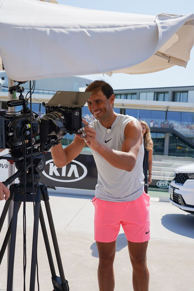 We're delighted to continue our partnership with Rafa Nadal for another 5 years and can't wait to see him back on the court #GetRafaMoving  #Kia #KiaTennis #Nadal #KiaOman https://t.co/JCmZPOls6j