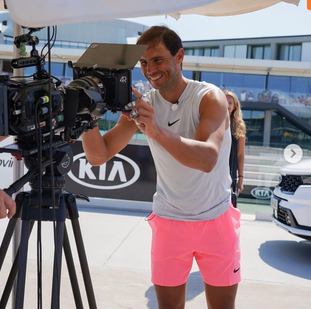 kiamotorsworldwide- We're delighted to continue our partnership with @rafaelnadal for another 5 years and can't wait to see him back on the court #GetRafaMoving  #Kia #KiaTennis #Nadal #Crystalautokia #Kia #kiapune #overdrive #kiaindia https://t.co/LOzrrRcSOj
