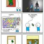 Image for the Tweet beginning: Art Overflow ()