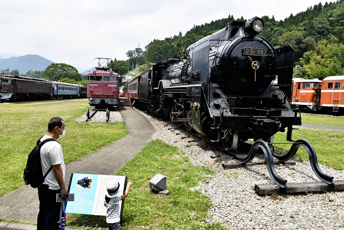 Gunma railway park offers chance to drive classic locomotive #UsuitougeRailwayHeritagePark #UsuiLine #GunmaPrefecture #EF63 #ElectricLocomotive https://t.co/YkN50qWRHd https://t.co/iSTXPtdJEr