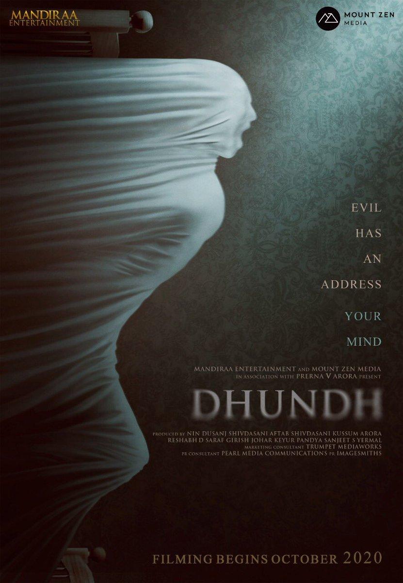 Congratulations for #dhundh my best wishes #prernavarora @AftabShivdasani @d_reshabh @girishjohar @mandiraa_ent