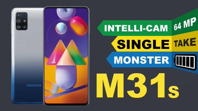 Galaxy M31s Single Take