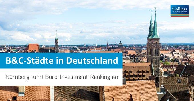 Büroimmobilien in den deutschen B&C-Städten standen im ersten Halbjahr 2020 hoch im Kurs und wurden mit einem Volumen von knapp 2 Mrd. € gehandelt. #Immobilien Das ist ein Plus von 23% zum fünfjährigen Durchschnitt: t.co/2vJmBpWAdq