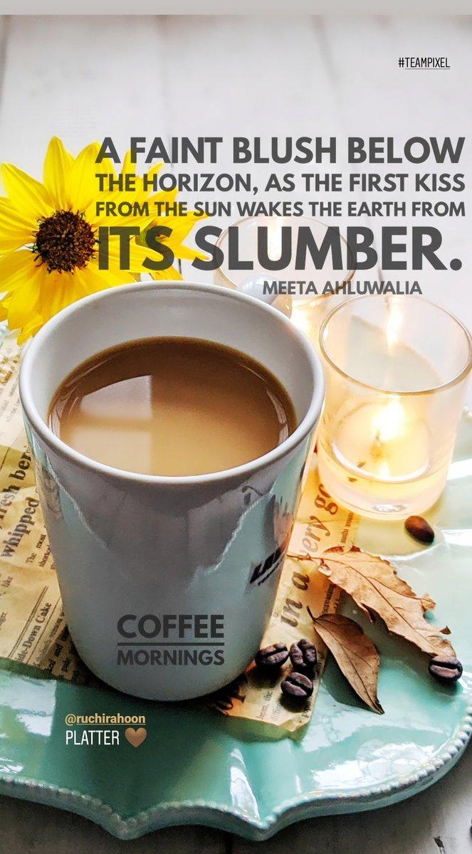 Inspired mornings with coffee Platter 🤎 @ruchirahoon 🙏  #shotwithpixel3xl #phonephotography #coffeemornings #lovecoffee #madewithkitchenaid #gurgaondiaries #coffee #inspiration #coffeequotes #motivation #morningslikethese #whatidoallday @googleindia @madebygoogle https://t.co/jccmzLxrhp