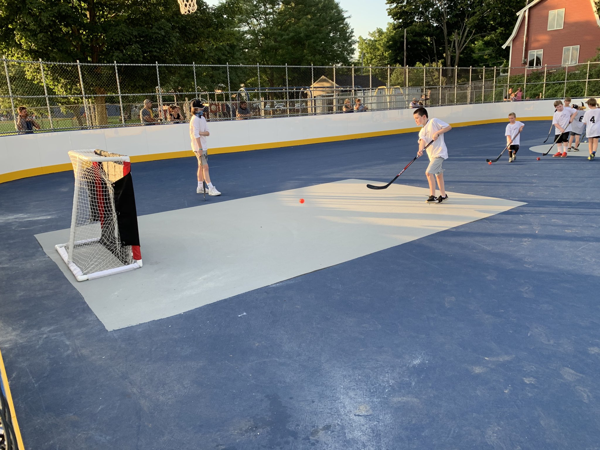 Franklin Recreation: Street hockey program begins