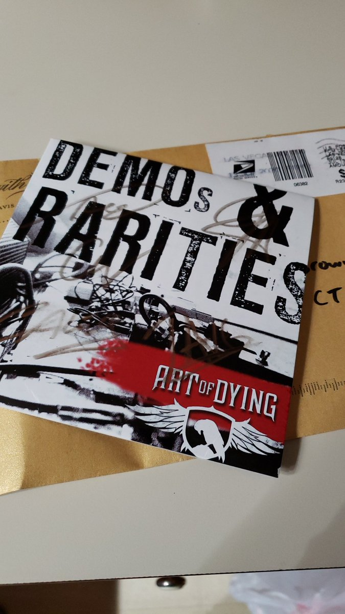 @tavisjstanley @ArtOfDying  made my day when I saw this in the mail❣ https://t.co/ZHGmfPDVhG