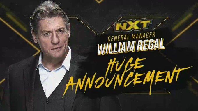 William Regal fará grande anúncio no WWE NXT