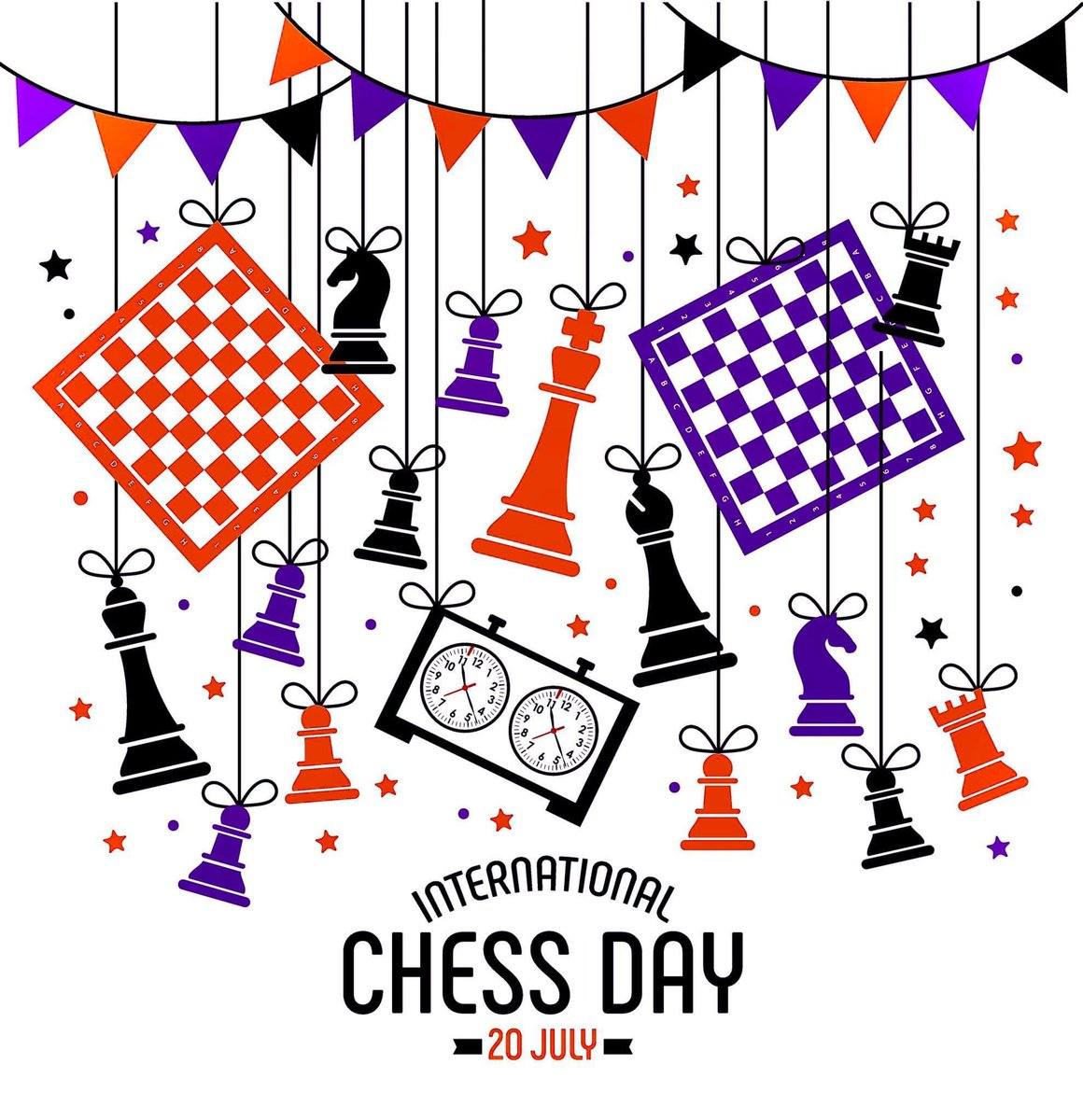 To all the chess players and coaches out there...today is your day!