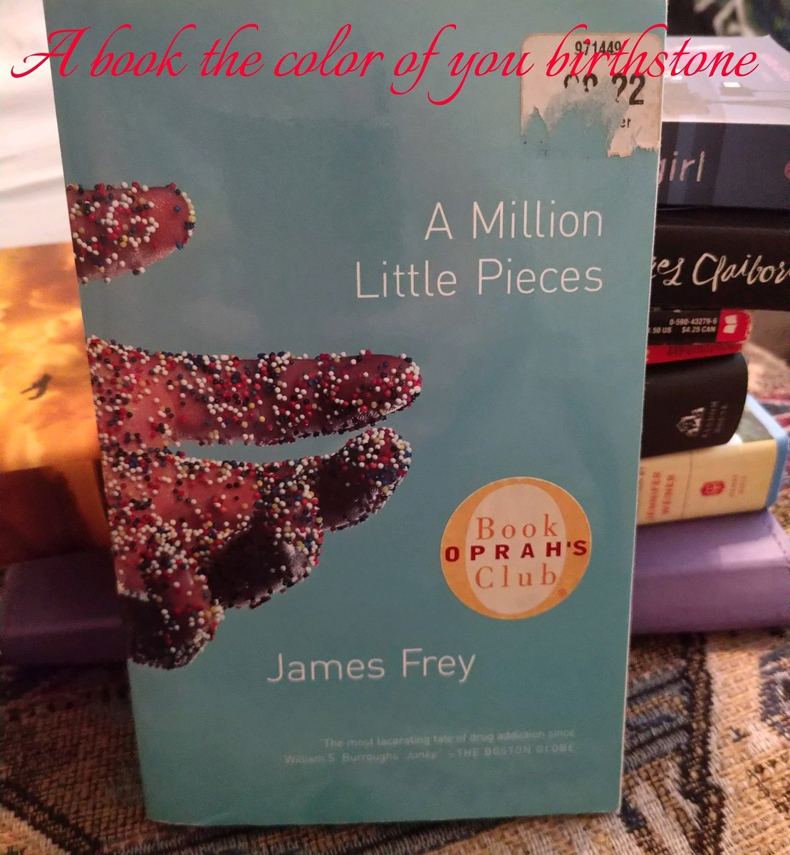 5 🌟 #amillionlittlepieces #jamesfrey #thereadingrush2020 https://t.co/9ACt3OaGPE