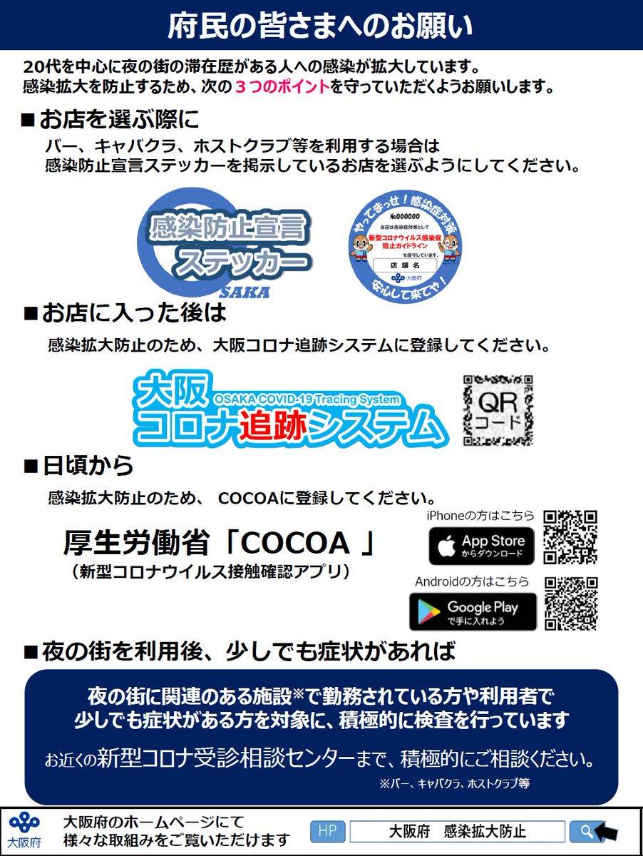 コロナ ウィルス 感染 者 大阪
