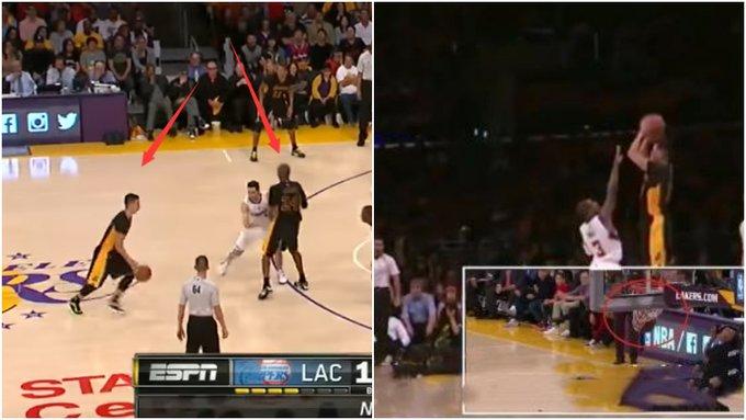 【影片】林書豪NBA生涯最霸氣一球!Kobe給他做擋拆,但其實是一次配合失誤!