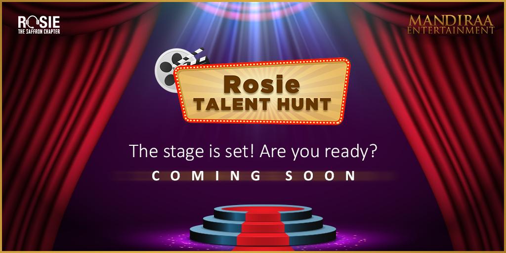 We're on a hunt for fresh faces that will create a unique impression in the film industry. Do you think you have what it takes? Stay tuned! @vivekoberoi | #PrernaVArora | @mishravishal | @girishjohar | @IKussum | #MandiraaEntertainment | #DailyHunt | #RosieTalentHunt | #Rosie |
