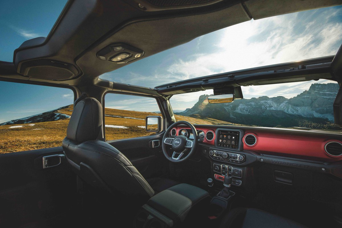 Inferior interior? No such thing with #Mopar interior accessories for your #Jeep Wrangler. https://t.co/vw3tvBGP7r https://t.co/IDp2IJqsj5