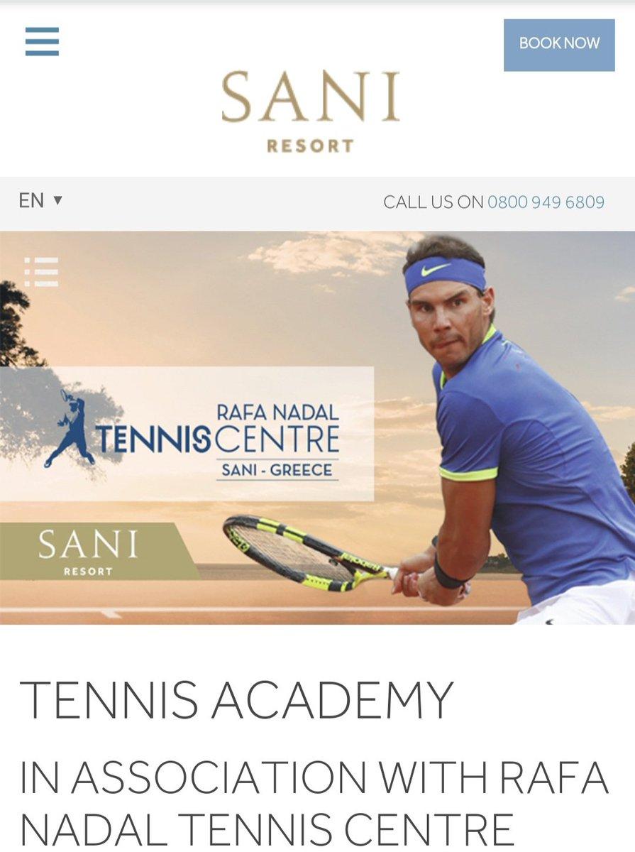 Rafa Nadal's Sani Tennis Centre in Greece, doing it right.. Complimentary Covid-19 AND antibody testing on arrival... OR you cannot stay #AllBooked #SaniResort #Sani #Greece #RafaTennisCentre  https://www.sani-resort.com/en_GB/rntcpic.twitter.com/H7qRDcqHLx