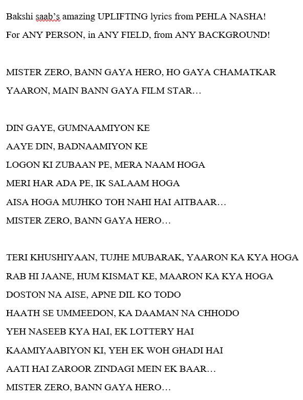 An Honour and my good Fortune to have worked with the LEGENDARY Poet & Lyricist #AnandBakshi ji in my debut film PEHLA NASHA!  Remembering him today with reverence on his Birth Anniversary! 🙇♂️    #DepakTijori @PoojaB1972 @TandonRaveena @uttankvora @RakBakX