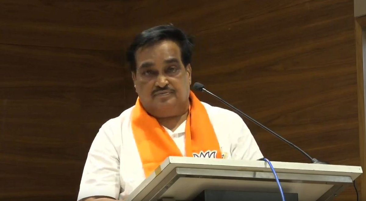 CR Patil speaks after taking over office of Gujarat BJP chief