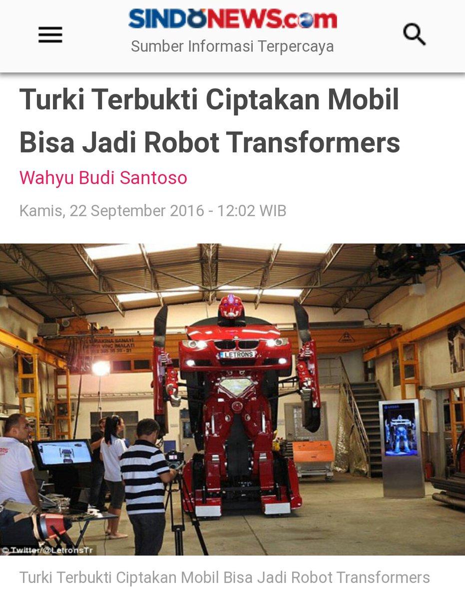 @xdigeeembok Di Timur Tengah pun sekarang udh bikin robot Transformers in real life... Disini masih kopar-kapir, penggal leher, minum kencing onta, kulkas halal, kurma syariah, teriak2 PKI, bikin tagar #INAelectionObserverSOS.. Terus apa lagi ya ??  https://t.co/kG623SCMIo https://t.co/tc4sj6PvvM