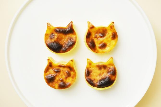 \\7月22日発売の新商品// 本格チーズケーキのお店から 新作「にゃんチー」が登場👏✨  チーズケーキの製造過程に加えて、 高温焼成することでこんがり焼き色が付き バスク風に仕上がっています🧀🍴  オンラインで購入も可能ですよ👜  🐈「ねこねこチーズケーキ」 →https://t.co/wsZK02mYIt https://t.co/fDjpYufqY3