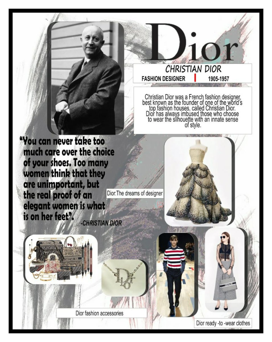 Amity School Of Fashion Technology Greater Noida On Twitter You Can Never Really Go Wrong If You Take Nature As An Example Dior Most Influential Fashion Designers Of All Time Christiandior