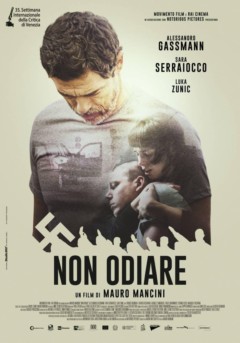 Very proud to announce that Non Odiare starring @serraioccosara as the lead actress, will be the single Italian film in competition at the Venice International Film Critics Week. Congratulations Sara! #venicefilmfestival