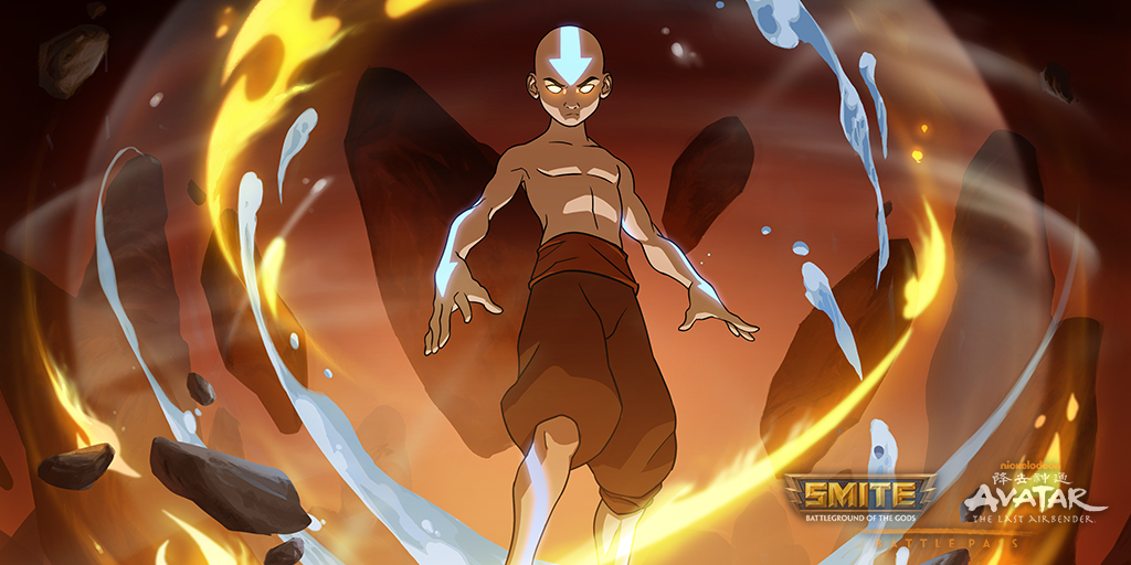 Smite On Twitter Enter The Avatar State To Unleash Your Full Potential Avatar Aang Merlin Is Ready To Channel His True Power And Defeat Anyone Who Threatens The Balance Unlock His Avatar